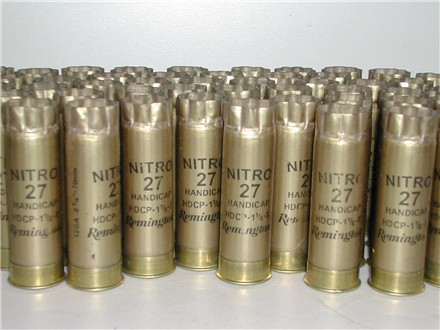 12 Ga Remington Nitro 1X Hulls - Restocking